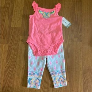 3m carters hot pink outfit